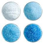 Light Turquoise Blue Transparent Bullseye Frit
