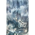 Glacier Blue, Steel Blue Graffitt